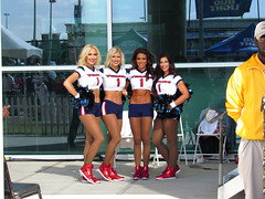 IMG_6876 (grooverman) Tags: houston texans cheerleaders nfl football game nrg stadium texas 2016 budweiser plaza nice sexy legs stomach canon powershot sx530