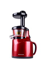 Homeleader Masticating Slow Juicer,Juice Extractor 150-Watt for All Fruit and Vegetable, Cool Bright Red (saidkam29) Tags: 150watt bright cool extractor fruit homeleader juicerjuice masticating slow vegetable