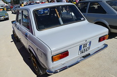 Fiat 128 (benoits15) Tags: automotive automobile anciennes avignon racing retro rallye old italian italia italy prestige supercar festival flickr french gt historic japan japon motor meeting car coches classic cars collection voiture vintage nikon fiat 128