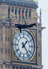 Zip wire across London's, River Thames, Friday, Dec. 2. 2016. (olliepix) Tags: zip wire across londons river thames friday dec 2 2016