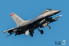 91-0412 United States Air Force General Dynamics F-16CM Fighting Falcon (EaZyBnA) Tags: autofocus ngc