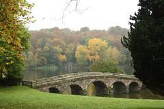 Bridge (My photos live here) Tags: stourhead stone bridge mere wiltshire england canon eos 1000d hoare national trust gardens stately home mansion grass tree stourton