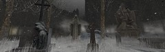 place of never-ending sorrow (flubs) Tags: winter snow landscape nature sl secondlife surreal slphotography flickr firestorm virtual dreamy