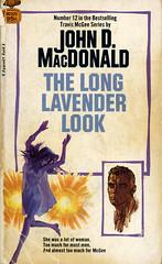 Novel-The-Long-Lavender-Look-by-John-D-MacDonald (Count_Strad) Tags: johndmacdonald mystery novel softcover artworkart