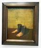 Magritte - La Modèle rouge, 1935 (Monceau) Tags: magritte exhibition centrepompidou paris lamodèlerouge feet sgies
