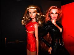 Cindy and Dasha (Patricia in SLC1) Tags: frfashionroyalty fr2 modern sensibility dasha cover girl vero veronique
