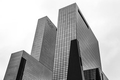 DELFTSE  POORT (Blende1.8) Tags: rotterdam skyscrapers skyscraper hochhaus hochhuser urban city cityscape modern contemporary architecture architektur leica dlux netherlands carstenheyer delftsepoort