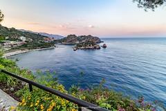 Isola Bella (Alberto Gravagno) Tags: taormina sicilia sicily mare sky summer estate isola island italia italy cielo tramonto travel isolabella tao view