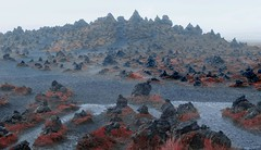 alien landscape (mudokkon) Tags: islandia iceland alienlandscape alien scenery landscape landscapes paisaje paisajes red rain fog naturaleza nature