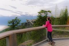 Squamish gondola- British Columbia (yuanxizhou) Tags: awesome attraction vacation westcoast wilderness scenery landscape view outlook bridge trees portrait cloud mountain squamish suspensionbridge seatosky britishcolumbia