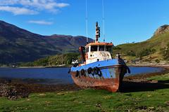 Ecosse - Scotland (AlCapitol) Tags: ecosse scotland nikon d800 bateau boat loch lac lake paysage landscape