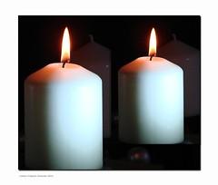 2. Advent 2016 (Jorbasa) Tags: jorbasa hessen wetterau germany deutschland kerze candle zwillinge twins weihnachtszeit advent christmastime