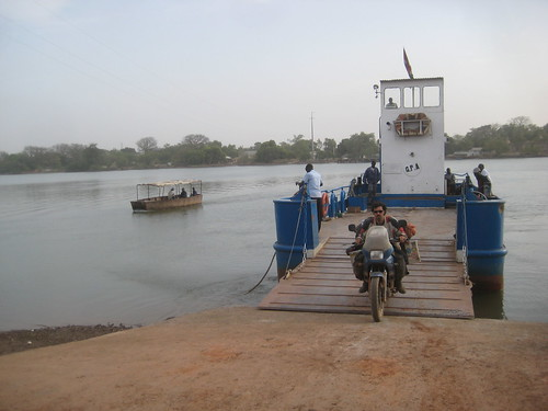 Ferry in Gambia