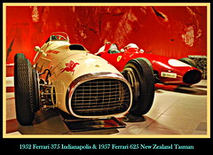 1952 Ferrari 375 Indianapolis & Ferrari 625 New Zealand Tasman (PictureJohn64) Tags: auto new heritage classic car museum automobile driving traffic indianapolis famous den transport ferrari hague collection zealand commercial transportation historical haag tasman collectie fahrzeug 1952 oto historisch 375 verkeer vervoer klassiek 625  samochd beroemd gravenhage otomobil louwman automobiel worldcars  automoviel klassiesch