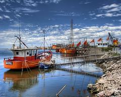 Zona portuaria (Santiago Antonio Castro) Tags: sea patagonia argentina puerto harbor mar hdr ard neuqun bracketing necochea highdinamicrange horquillado altorangodinmico chdk canonpowershotsd870is santiagoantoniocastro