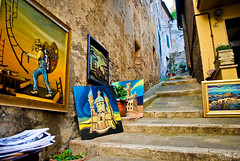 Montepulciano art (Chiara Salvadori Ph) Tags: street old windows italy art landscape spring vines medieval tuscany siena montepulciano toscana vicolo vino colline campi paese viti vinonobile