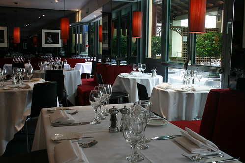 The Amphitheatre Restaurant at the Royal Opera House © ROH 2010