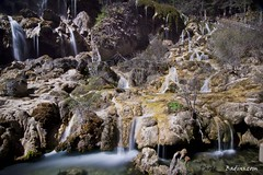 Shoal Pearl Waterfall (Ba Dins) Tags: china nature landscape waterfall nikon unesco valley chengdu indah sichuan alam stockphoto gettyimage jiuzhai amazingplace jiuzhaigouvalley jiuzhaiguo jiuzhaivalley shutterstock sichuanprovince amazingwaterfall chengduchina malaysiaphotographer jiuzhaigo kuantanphotographer pahangphotographer beautifulllandscape ciptaanallahswt abacounty d3100  shoalwaterfall badinscom wwwbadinscom
