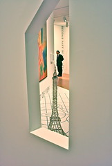 Dallas Museum of Art (DMA) (KellieCA) Tags: sculpture art museum architecture dallas eiffeltower pointofview collections artmuseum childrensmuseum dma downtowndallas dallastexas dallasmuseumart