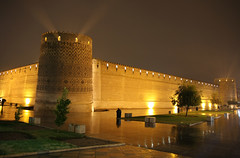 Arg of Karim Khan - Shiraz - Iran |   -  (Pedram Veisi) Tags: rain night iran shiraz arg  zand  karimkhan  zanddynasty argekarimkhani citadelofkarimkhan  argekarimkhan  iranmap zandieh argofkarimkhan iranmapcom