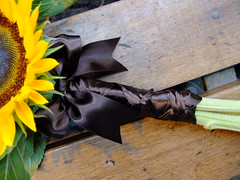 DSCF3582 (Vicky Spence) Tags: wedding flower yellow gardens wand alnwick northumberland sunflower bridesmaid