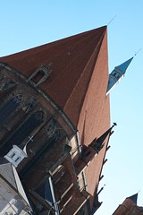 St. Jacob's and St. Agnes' Church steep roof (Michael Tracy's photos) Tags: poland nyas