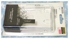 Square Enix Members Clear Case for Nintendo DS Lite (moomoomilk*) Tags: nintendo nintendods squareenix