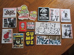 WAZ pack (andres musta) Tags: sticker stickerart stickers we zombies waz wearezombies