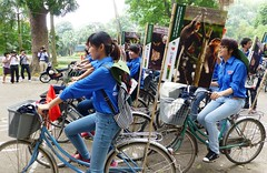 USAID Supports International Day for Biological Diversity in Hanoi (USAID Vietnam) Tags: usaid green nature energy wildlife conservation vietnam bicycles hanoi prevention biodiversity trafficking usaidvietnamdevelopmentbiologicaldiversityenvironmentrdmaasiawildlifetrafficking usaidvietnamdevelopmentbiologicaldiversityenvironmentrdma