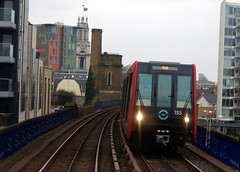 Docklands Light Railway 155 (chrisbell50000) Tags: light favorite london train tracks railway rails docklands favourite dlr 155 chrisbellphotocom