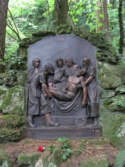 The Grotto - Portland, Oregon (Dougtone) Tags: flower tree church statue oregon garden portland religious shrine altar grotto stationsofthecross thegrotto