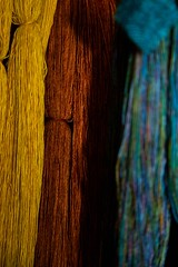 920786_446375632121148_1194062761_o (Crookedbear) Tags: color art texture wool thread composition silk yarn weaving theweavingworks danburbank crookedbear