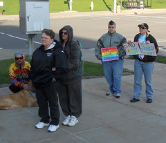 DSCN7151_edited-1 (Michael Mahler) Tags: unitedstates pennsylvania blurred lgbt erie smallgroup longshot marriageequality eriepa mediumquality 100statestreet marriageequalityforpa