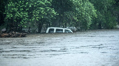 Flash Flood (badchess) Tags: car san flood flash antonio