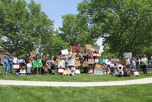 March Against Monsanto in Lawrence, Kansas