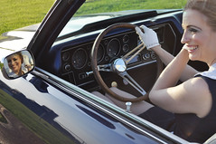 """1970 Chevelle With Kay • <a style=""""font-size:0.8em;"""" href=""""http://www.flickr.com/photos/85572005@N00/8858023209/"""" target=""""_blank"""">View on Flickr</a>"""