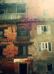undecided (ihbarus) Tags: door wood broken cement kathmandu patan