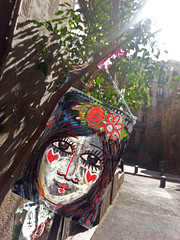 Barcelona 2013 - unknown (DonCampeon) Tags: street urban streetart color pasteup art wall painting graffiti artwork stencil sticker stickerart mural artist arte grafiti handmade character wheatpaste tag stickers streetphotography murals streetlife wallart spray urbanart crew installation animation roller spraypaint walls graff piece aerosol tagging stencilart legal artworks graffitiart mytag photooftheday wildstyle sprayart handstyle urbanwalls postgraffiti buildinggraffiti yarnbombing streetartistry instagraffiti tagsforlikes doncampeon