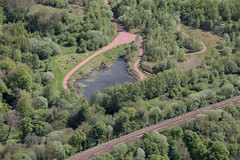 Redlees Urban Park - Ariel view (CommunityLinkssl) Tags: charity scotland photo glasgow volunteers aerialview volunteering lanarkshire blantyre southlanarkshire thirdsector communitylinks redlees redleesurbanpark commlinkssl