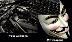 Legion Weapon of Choice (incognito1570) Tags: freedom fight fighter internet guyfawkes weapon anonymous anon weapons cyberspace cyber legion fawkes freedomfighter internetfreedom wearelegion cyberwarrior legioncompound cyberfreedom