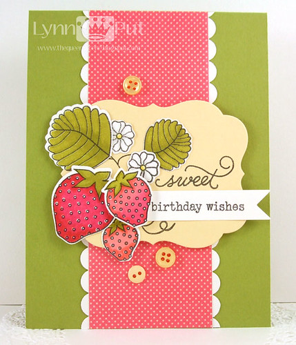 Sweet Birthday Wishes Card by Lynn Put