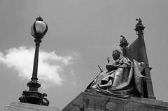 The Queen (Soumen Halder) Tags: kolkata calcutta victoriamemorial