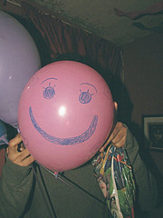 smiley (Michelle Junop) Tags: birthday pink smile happy