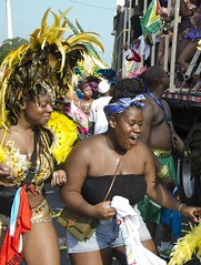 D7K 7481 ep (Eric.Parker) Tags: toronto costume mas breast parade bikini jamaica trinidad masquerade cleavage westindian caribana 2012 headdress masband scotiabankcaribbeanfestival scotiabanktorontocaribbeanfestival august42012