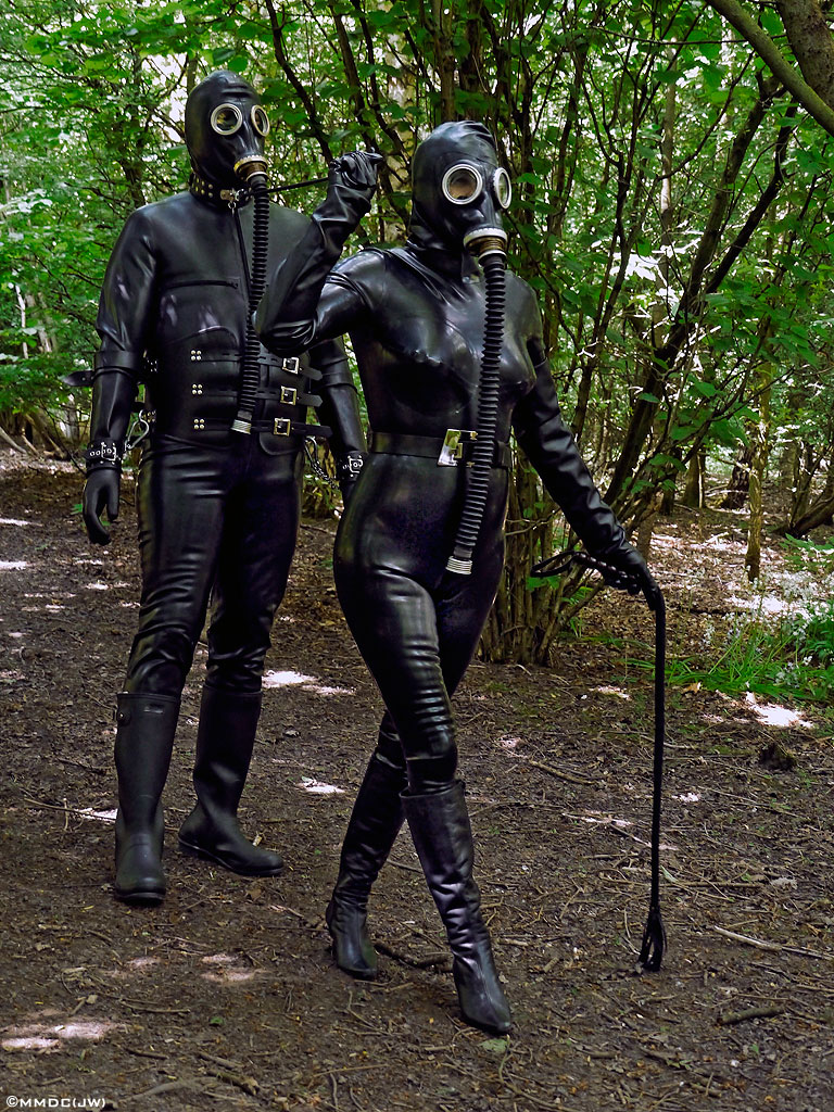 female domination outdoors