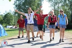 Ankunft am PLANET'13 (PLANET'13) Tags: austria scouts guides obersterreich pfadfinder eggenberg pfadfinderinnen attergau landeslager scoutcampaustria groslager photopaulkubalek planet13