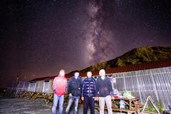 MOK是貼的~~ (JIMI_lin) Tags: star taiwan galaxy milkyway 合歡山 武嶺 南投縣 昆陽 hehuanmountain 銀河 仁愛鄉