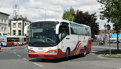 SC28 on route 13 from Limerick to Tralee County Kerry (D464-Darren Hall) Tags: limerick scania buseireann irizar sc28 04d24969