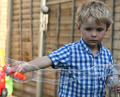 IMG_8942 (iainthomson84) Tags: boy garden fun play bubbles blow