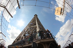 Pointing East (ian_fromblighty) Tags: paris france tower eiffeltower eiffel 2ndstage